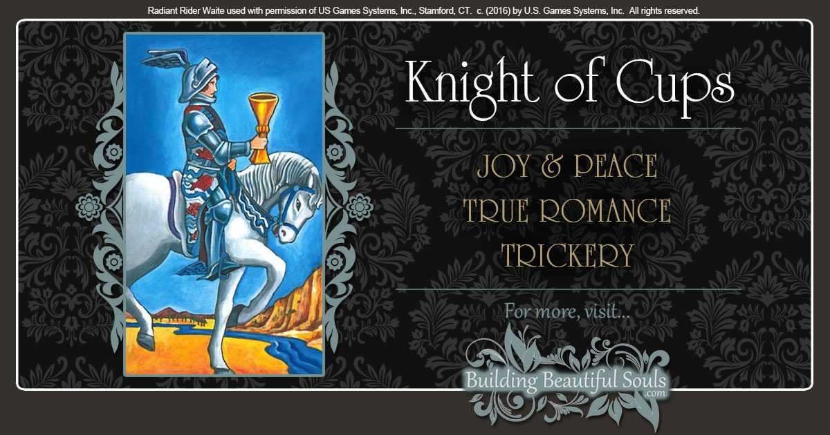The Knight of Cups Tarot Card Meanings | Tarot Reading
