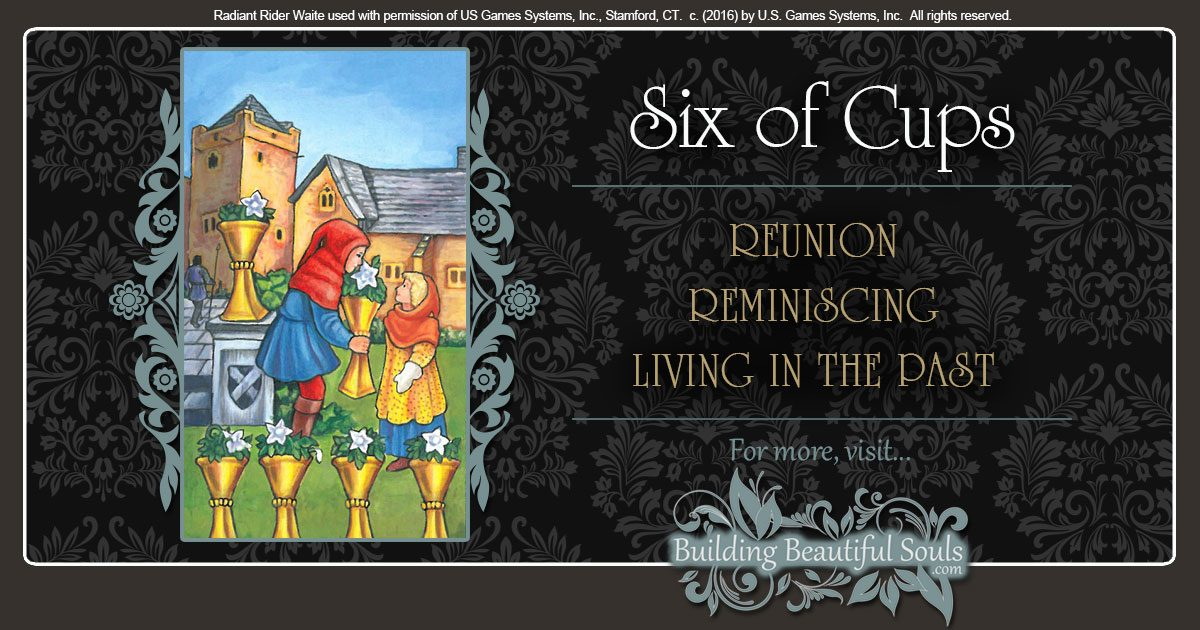 The Six of Cups Tarot Card Meanings 1200x630