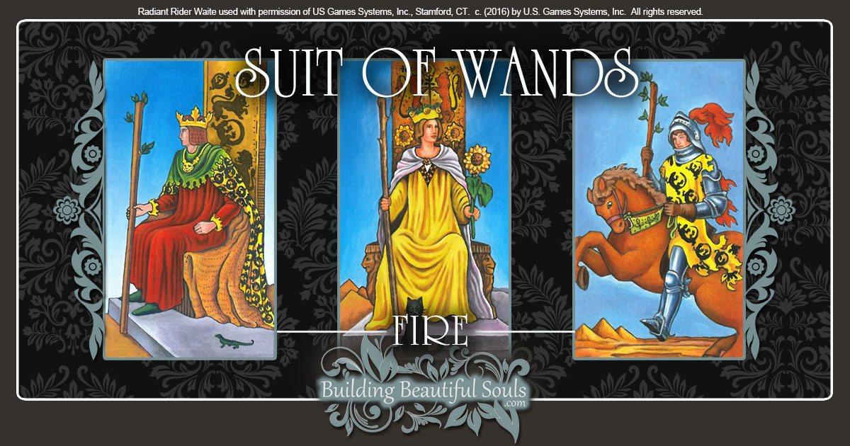 Suit Of Wands Tarot Card Meanings Tarot Reading