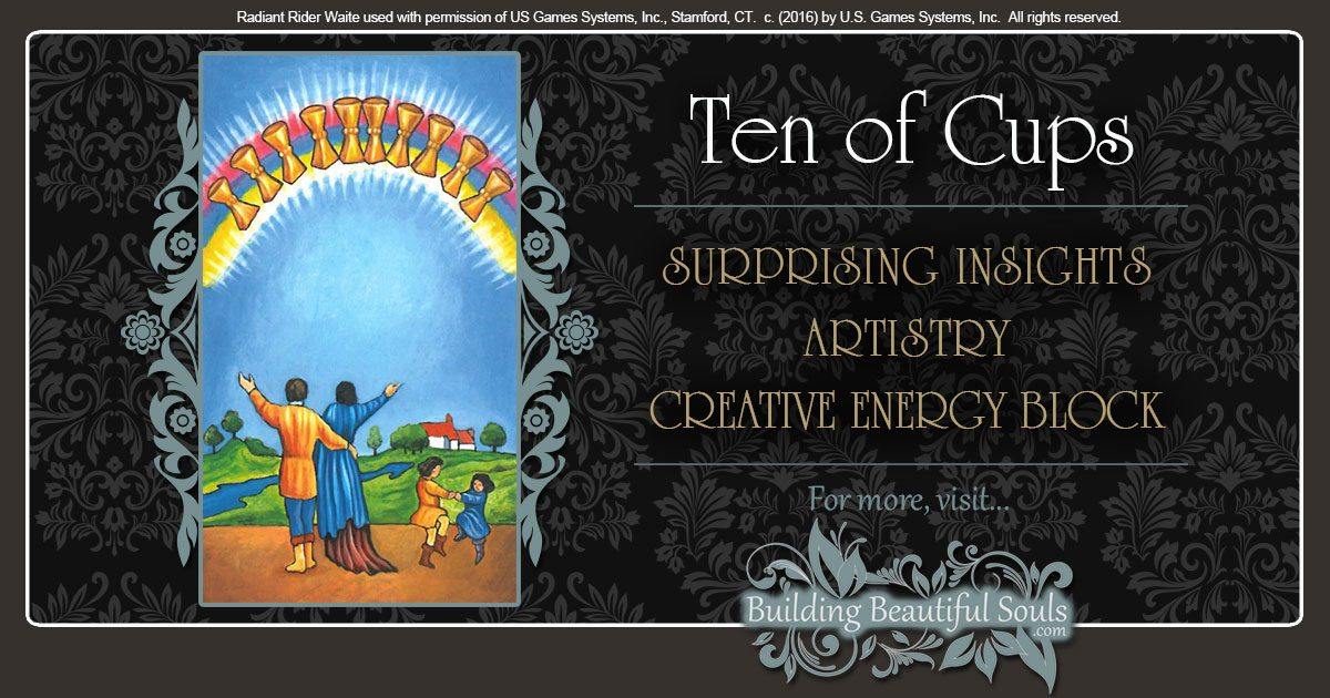The Ten of Cups Tarot Card Meanings 1200x630
