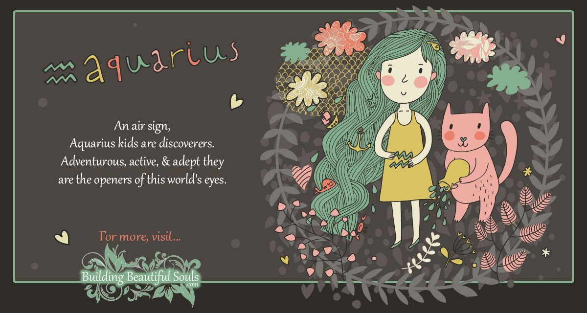 The Aquarius Child: Aquarius Girl & Boy Traits & Personality