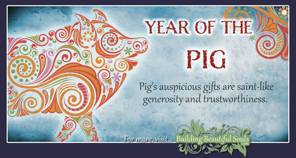 Chinese Zodiac Pig Year Of The Pig Chinese Zodiac Signs Meanings