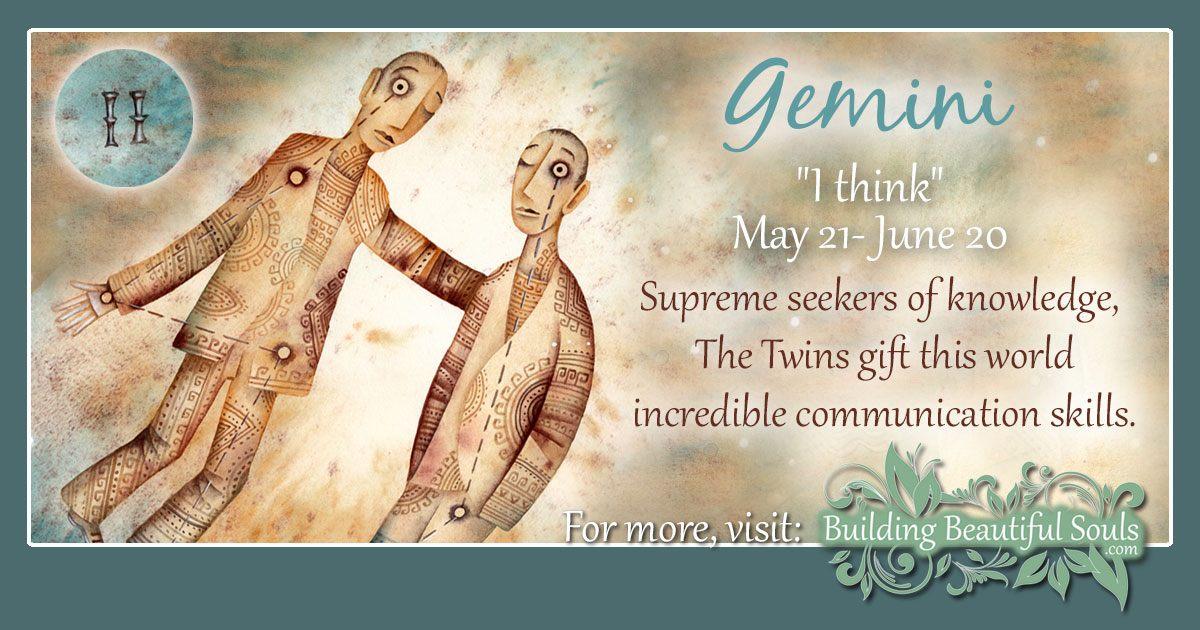 Gemini Star Sign Gemini Sign Traits Personality