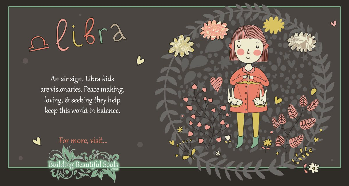 Libra Child Libra Girl Boy Traits Personality Astrology Zodiac Signs For Kids