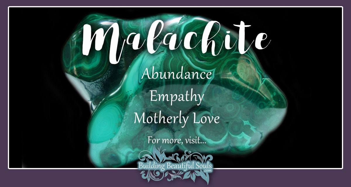 Malachite Meaning Amp Properties Healing Crystals Amp Gemstones