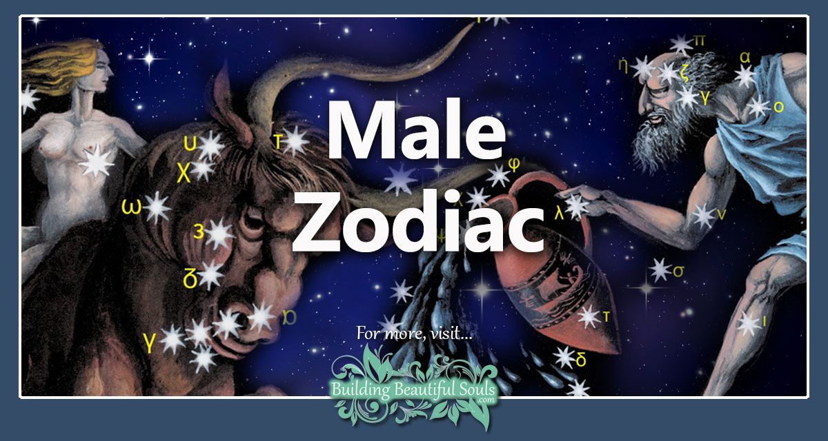 Men's Zodiac Signs: Traits in Love & in Bed | Male Zodiac Signs