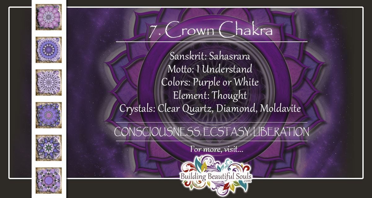 Crown Chakra (Sahasrara Chakra): Healing, Meditation, Meaning