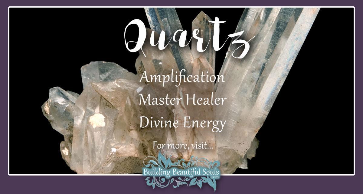 Quartz Meaning & Properties   Healing Crystals & Stones Quartz Crystal Spiritual Meaning